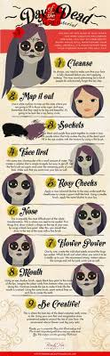 learn how to apply the day of the dead look with this make up tutorial stand out from your friends with something that 39 s a little bit diffe