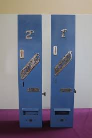 Wall Mounted Cigarette Vending Machine Best A Pair Of Wall Mounted Vending Machines For Matches Woodbines