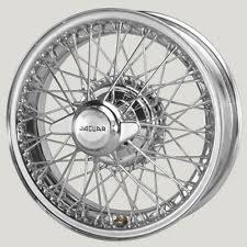 jaguar xk 140 wire wheels in vehicle parts accessories jaguar xk120 xk140 xk150 chrome wire wheel xw456c 3 tl