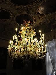 ca rezzonico venice italy murano glass chandelier 0121201756