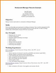 Resume Sample For Restaurant Restaurant Jobs Resume Sample Create Template Handsome Work 6