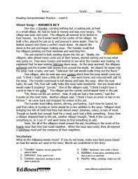 Fable Comprehension Worksheet Worksheets for all | Download and ...
