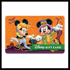 Halloween Gift Cards Disney Collectible Gift Card A Spooky Celebration Halloween