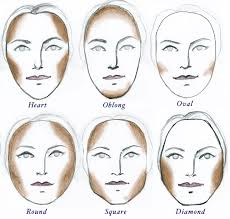 face contouring chart