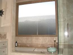 bathroom window privacy frosted