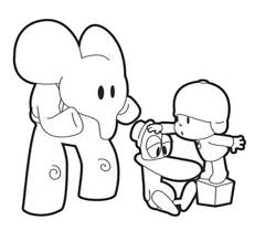 Small Picture Pocoyo Coloring Pages Best Coloring Pages adresebitkiselcom