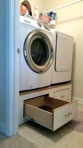 diy washer dryer pedestal with drawers. Modren Pedestal Diy Washing Machine Pedestal Pedestals For Washer And Dryer Base In Diy Washer Dryer Pedestal With Drawers S