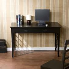 Furniture Black Desk With Drawers For Magnificent Home Office