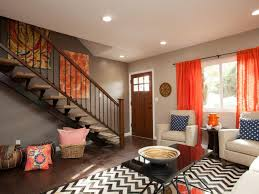 Orange And Blue Living Room Decor Living Room Latest Orange And Brown Theme Living Room Orange