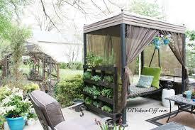 free standing pallet herb garden page