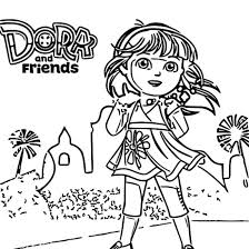 Small Picture Dora And Friends Coloring Pages Coloring Coloring Pages