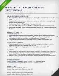 teaching cv template job description teachers at school cv example