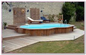 Above ground pool with deck attached to house Decking Above Ground Pool Decks Attached To House Home Decorating Ideas Above Ground Pool Decks Attached To House Decks Home Decorating