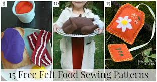 Felt Food Patterns Enchanting 48 Free Felt Food Sewing Patterns
