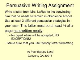 best opinion persuasive argumentative writing images on  dear mrs larue letters from obedience school locating the persuasion techniques used throughout the story letter