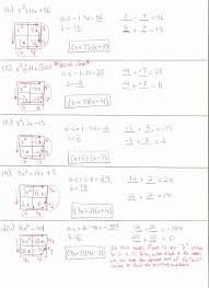 solving quadratic equations by factoring worksheet inspirational