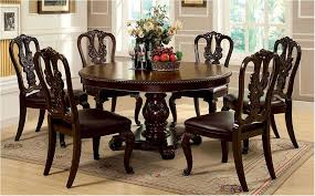 sensational dining room cool round dining room table for 6 round clear dining splendid pattern round