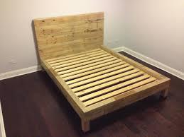 diy bed frame pallet bamboo pillows desk lamps
