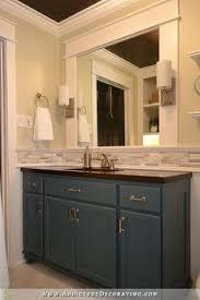 Backsplash for bathroom Subway Tile Hallway Bathroom Remodel Before After Pinterest 82 Best Bath Backsplash Ideas Images Home Decor Bathroom
