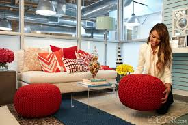 Decorate office jessica Design Elle Decor How To Decorate An Office With Jessica Alba