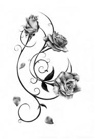 Small Picture Best 25 Rose bud tattoo ideas on Pinterest Small rose tattoos