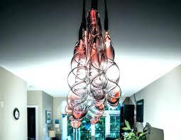 blown glass pendant lights blown glass pendant lights unique pendant light designs clear red glass pendant