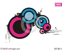 Abstract Circle Design Free Stock & s