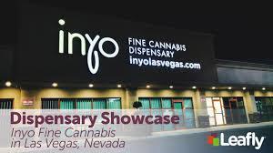 dispensary showcase inyo fine cans in las vegas nevada