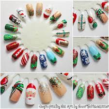 Christmas Nail Designs 2013 Christmas Nail Art Holiday Nail Art Wheel 2013 Xahtdt Easy