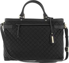 Quilted Laptop Tote: Mary kay consultant black quilted laptop ... & Quilted Laptop Tote : Banana republic quilted commuter tote in black lyst Adamdwight.com