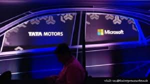 Tata Motors Microsoft Collaborate This Is The New Era You Must Know