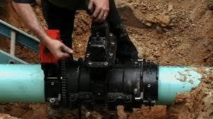 ez valve insertions ez valve installation in progress