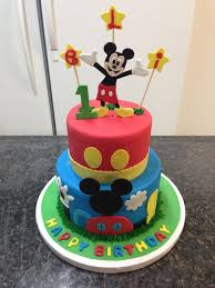 Mickey Mouse 1st Birthday Cake On Cake Central Carrot Cake In 2019