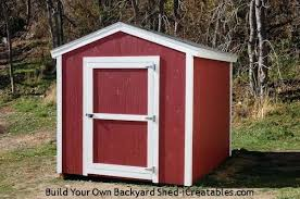 shed plans how to build a furniture 8x10 storage building kits