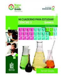 Cuaderno De Trabajo De Qu Mica 2011 2012 Doc