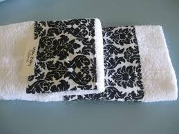 Decorative Bathroom Towels Sets Similiar Black And White Decorative Towel Sets Keywords