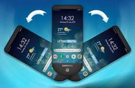 Samsung Smartphone Design Samsung Patents A Unique Triple Stacked Display Smartphone