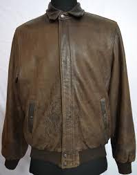 roots men s distressed flight er leather jacket
