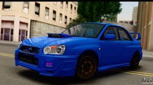 Subaru Impreza WRX STI 2004 for GTA San Andreas