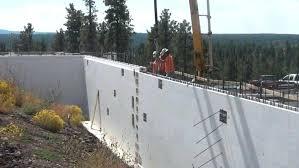poured concrete walls cost concrete block basement walls ridge end bulletin casting the bat roof which