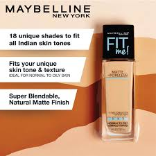 Maybelline New York Fit Me Matte Poreless Liquid Foundation With Pump 230 Natural Buff