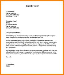 Thank You Letter To Boss For Accepting Resignation After Subject