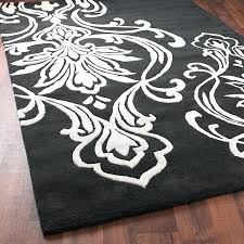 black and white damask rug black and white damask rugs with best black and white area