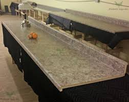 no drip edge kitchen countertop