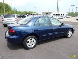 Indigo Blue Metallic 2002 Chevrolet Cavalier LS Sedan Exterior ...