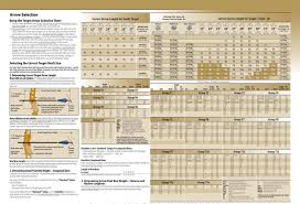 Gold Tip Velocity Arrow Chart 18 Specific Arrow Diameter Chart