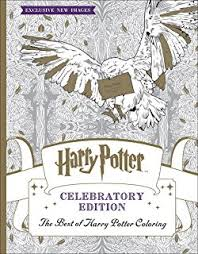 Small Picture Harry Potter Coloring Book Scholastic 9781338029994 Amazoncom