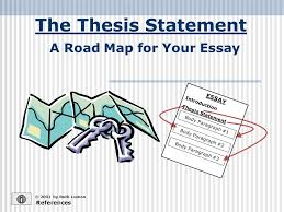 a road map for your essay ppt video online  a road map for your essay