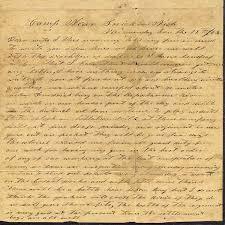 letter civil war