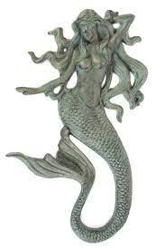 mermaid wall decor globe imports